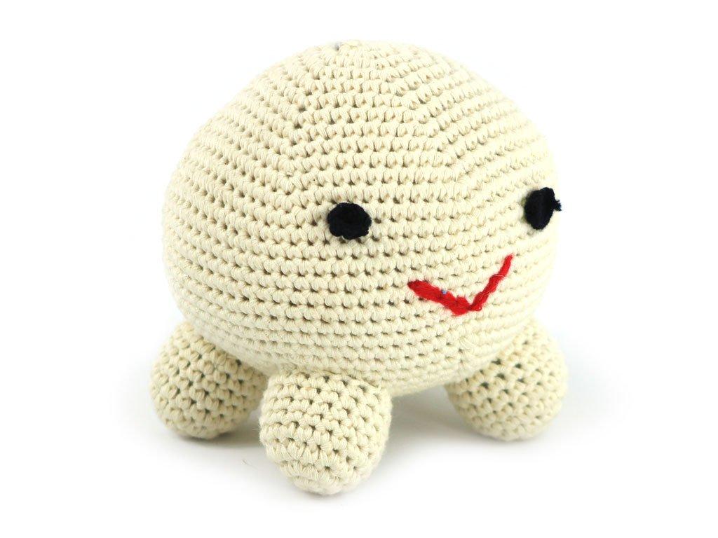 Originální háčkovaná hračka pro psy od Pet London vyrobená z bavlny. Velikost 13 cm.