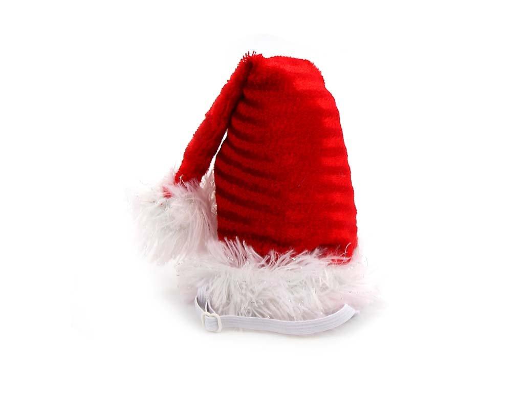 Vánoční čepička pro malé a střední psy