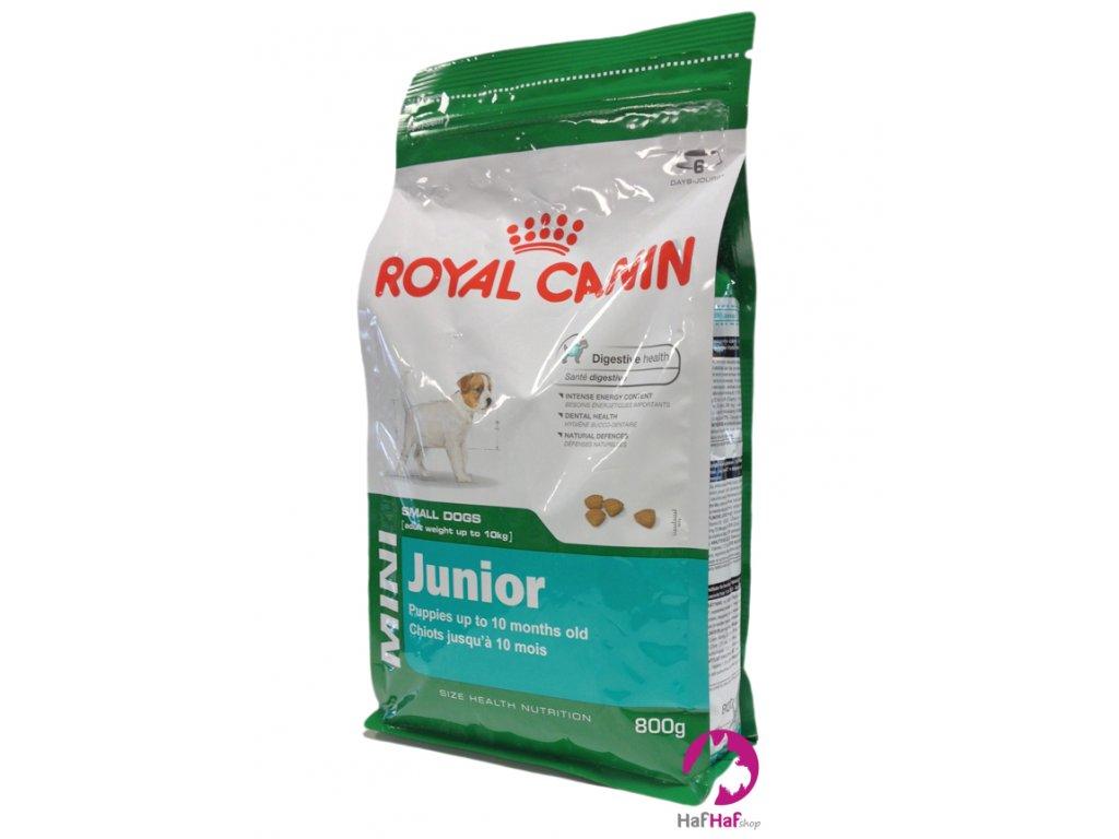 Granule pro psy Royal Canin Mini Junior 800 g