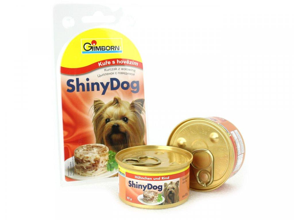 gimborn shiny dog kure hovezi 2 85 g