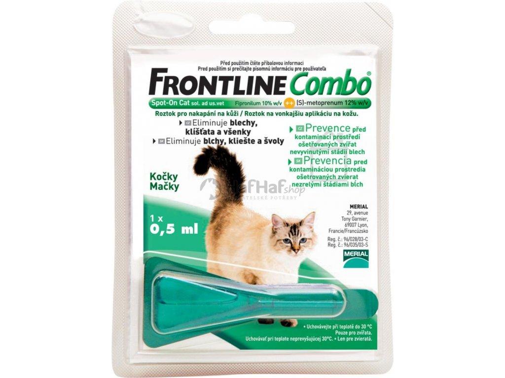 Frontline Combo Spot on  Cat 1x0,5