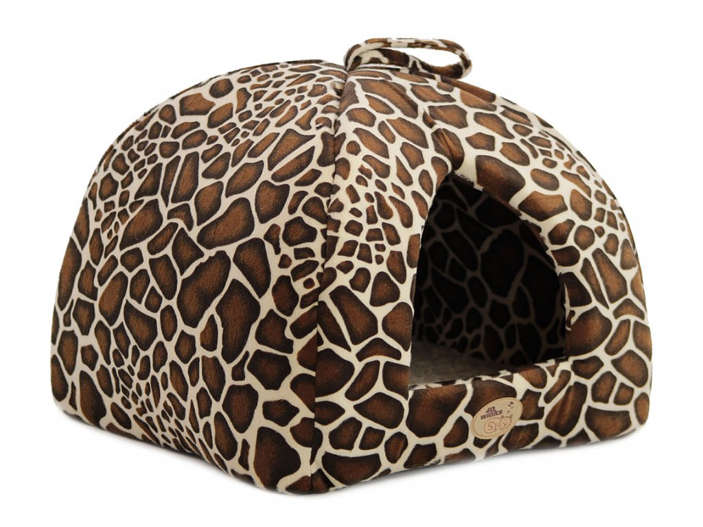 Heboučký uzavřený pelíšek z kolekce luxusních pelechů pro psy, kočky, štěňata a koťata z nejkvalitnějších materiálů.