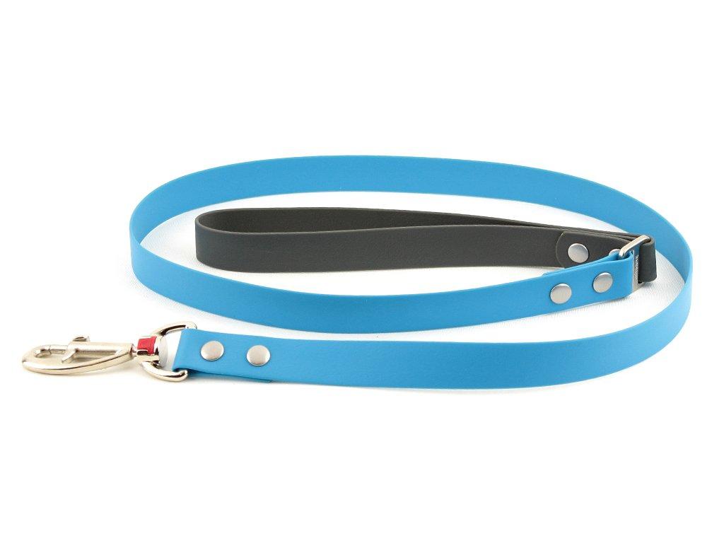 Voděodolné vodítko pro psy s PVC potahem odpuzujícím nečistoty, zápach a bakterie