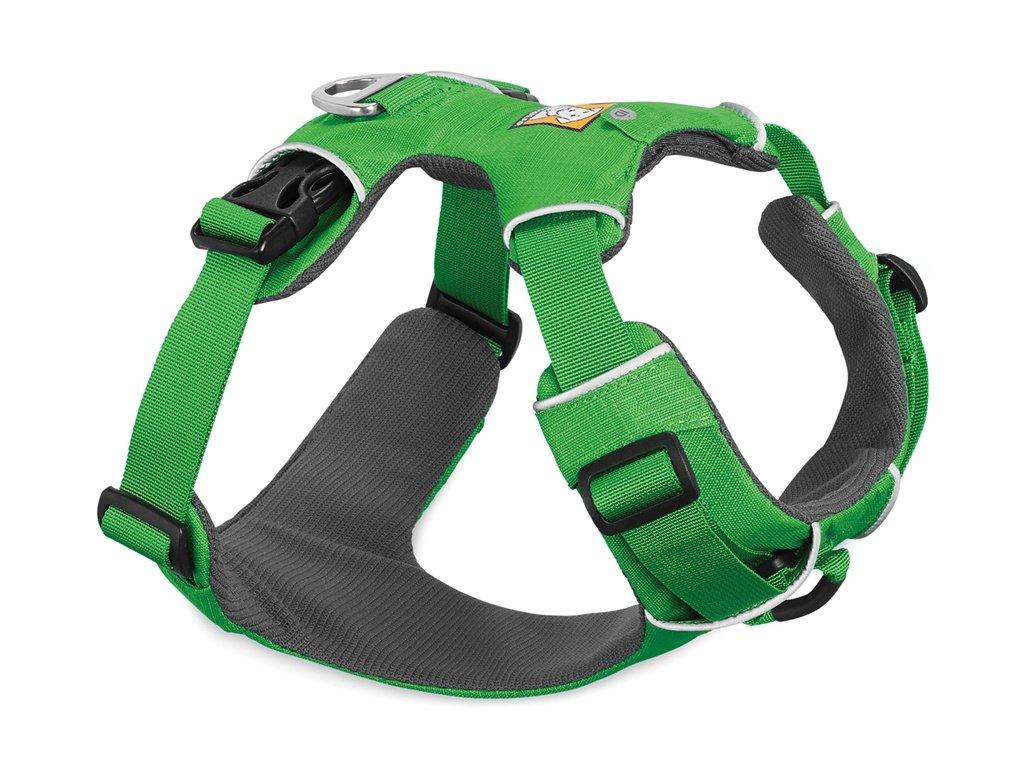Postroj pro psy RUFFWEAR Front Range, zelený