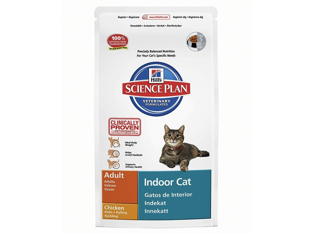 HILLS – krmivo pro kočky žijící v bytě nebo domě