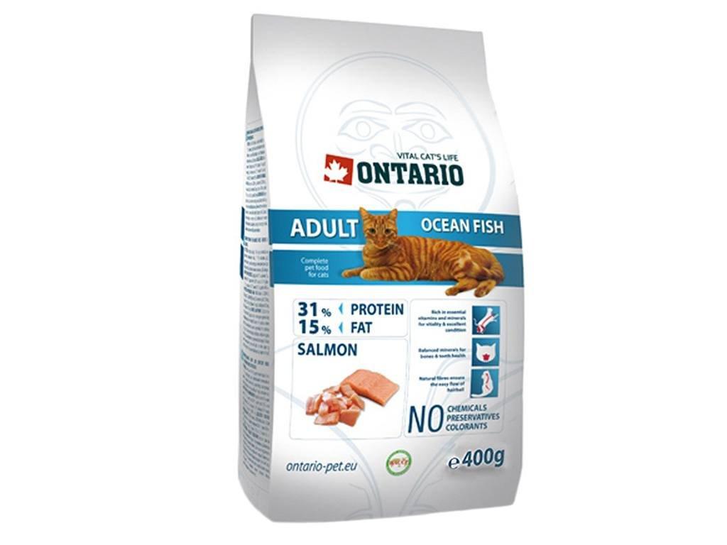 ONTARIO Adult Ocean Fish – superprémiové granule určené pro dospělé kočky