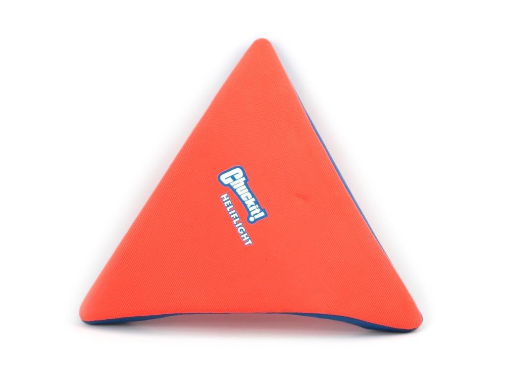 Létající talíř pro psy se speciálním prohnutým tvarem, díky kterému pomalu nabírá výšku (oranžový)