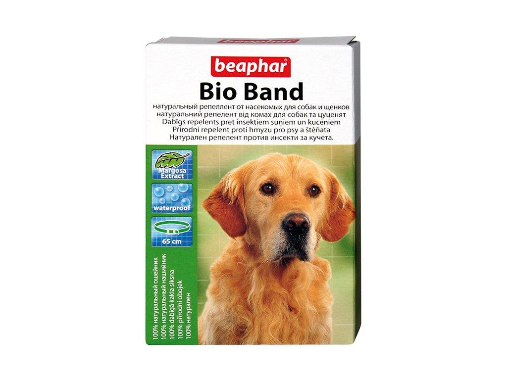 Přírodní antiparazitní obojek pro psy o délce 65 cm