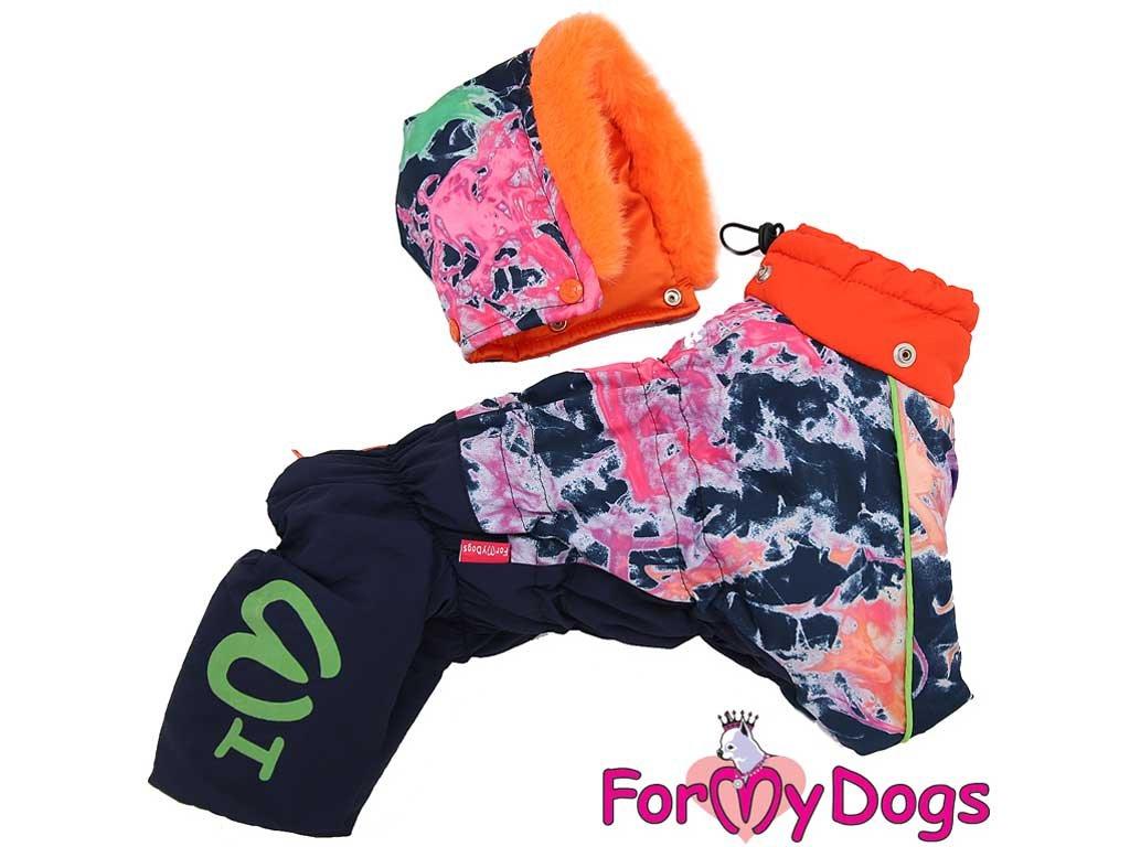 Obleček pro fenky – multicolor overal od FMD