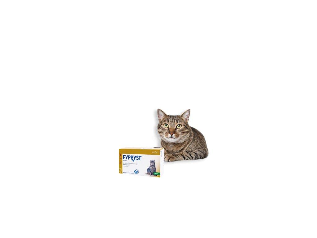 FYPRYST spot on cat - pro kočky ampule 1x 0.5ml