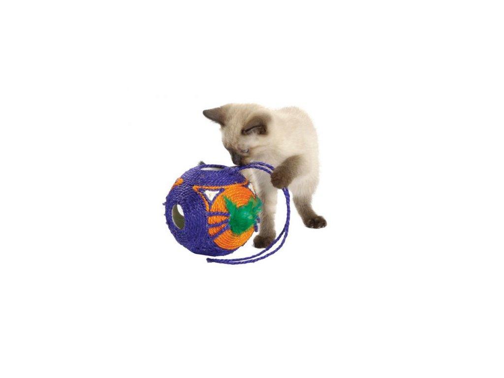 Škrabadlo - hračka pro kočky Balle Tete a Tete