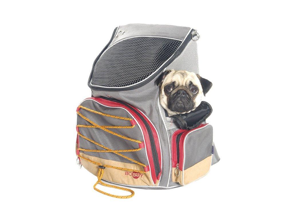 Batoh na psa a cestovní pelíšek v jednom