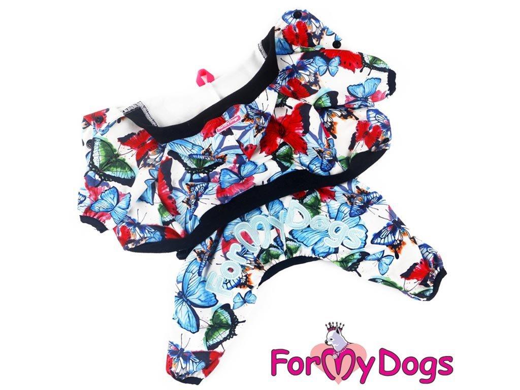 Obleček pro psy i fenky – overal BUTERFLIES