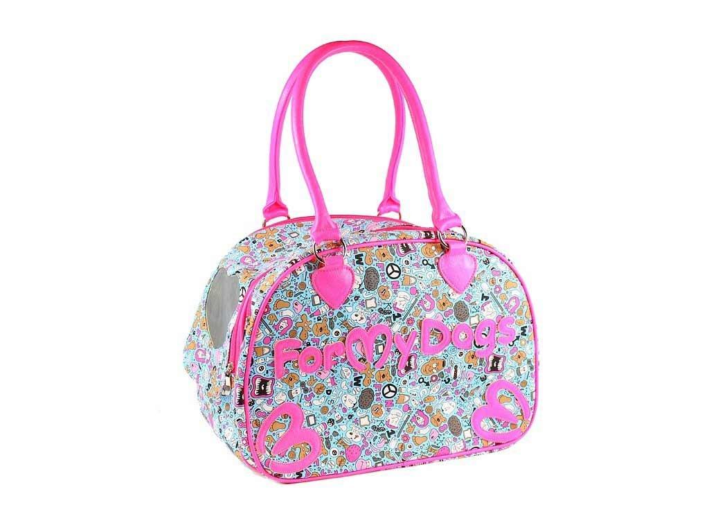 Luxusní a stylová taška na psy až do 8 kg z kolekce FMD