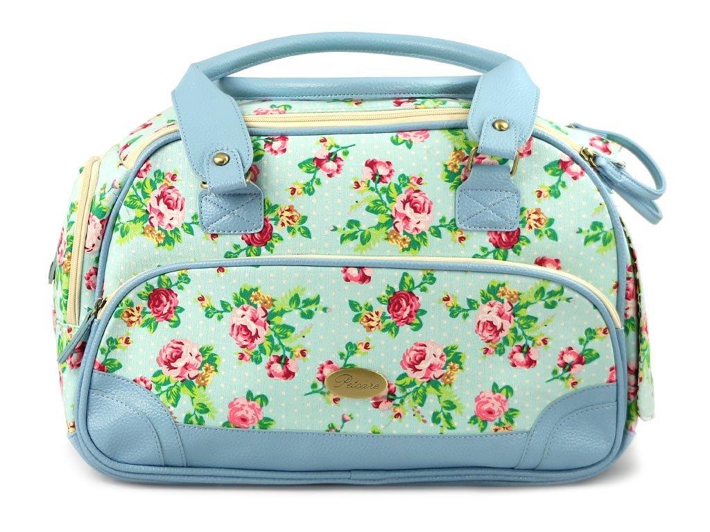 Luxusní prostorná kabelka/taška psy až do 8 kg. Kolekce Urban Pup, řada SUMMER ROSE, doporučená maximální váha psa 8 kg