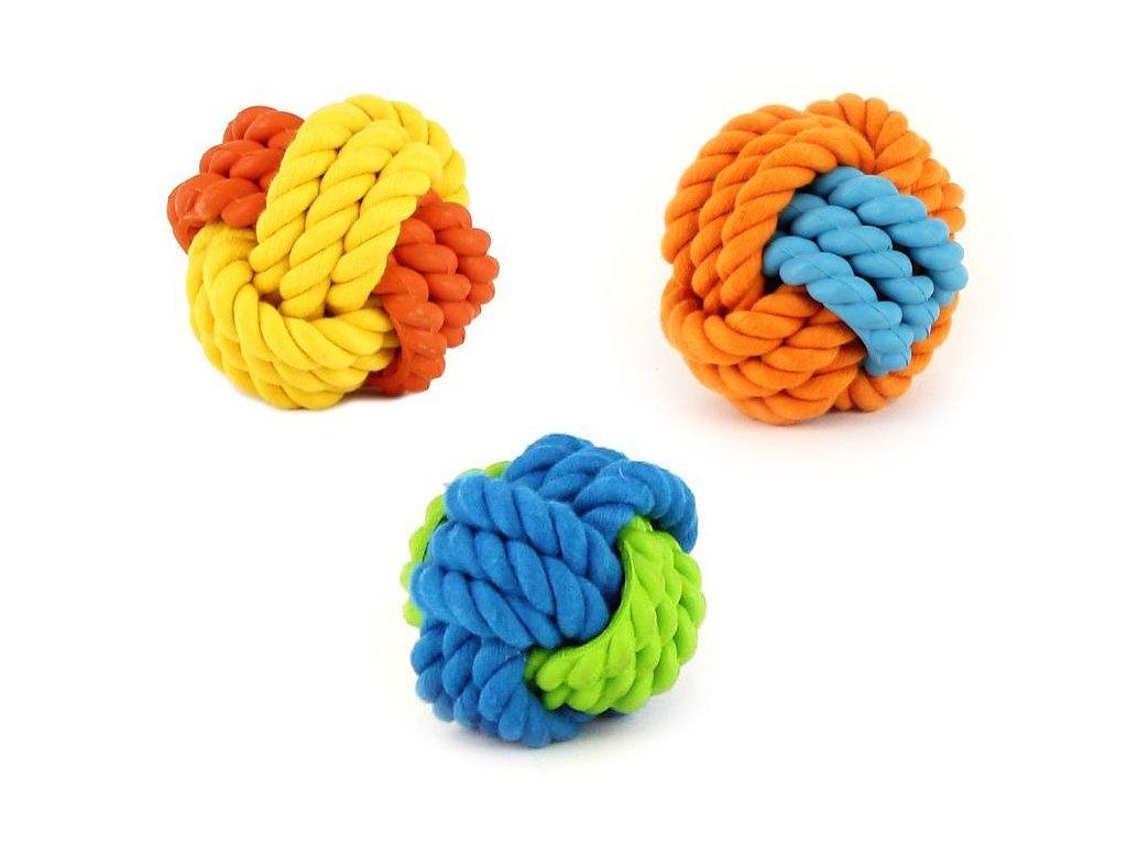 Super odolná hračka pro psy malých i velkých plemen vyrobená z kombinace provazových a gumových materiálů.