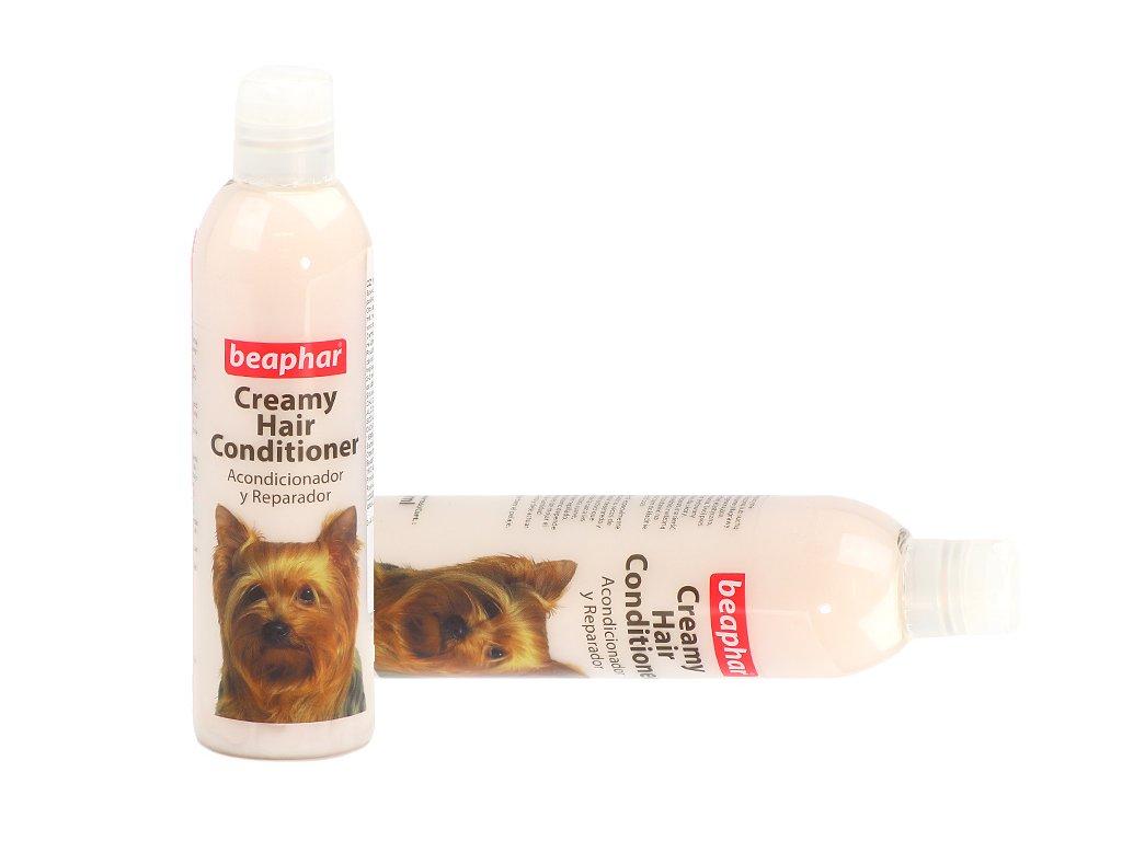 Kondicionér pro psy BEAPHAR s regeneračními účinky určený pro suchou a poškozenou srst. Objem 250 ml.