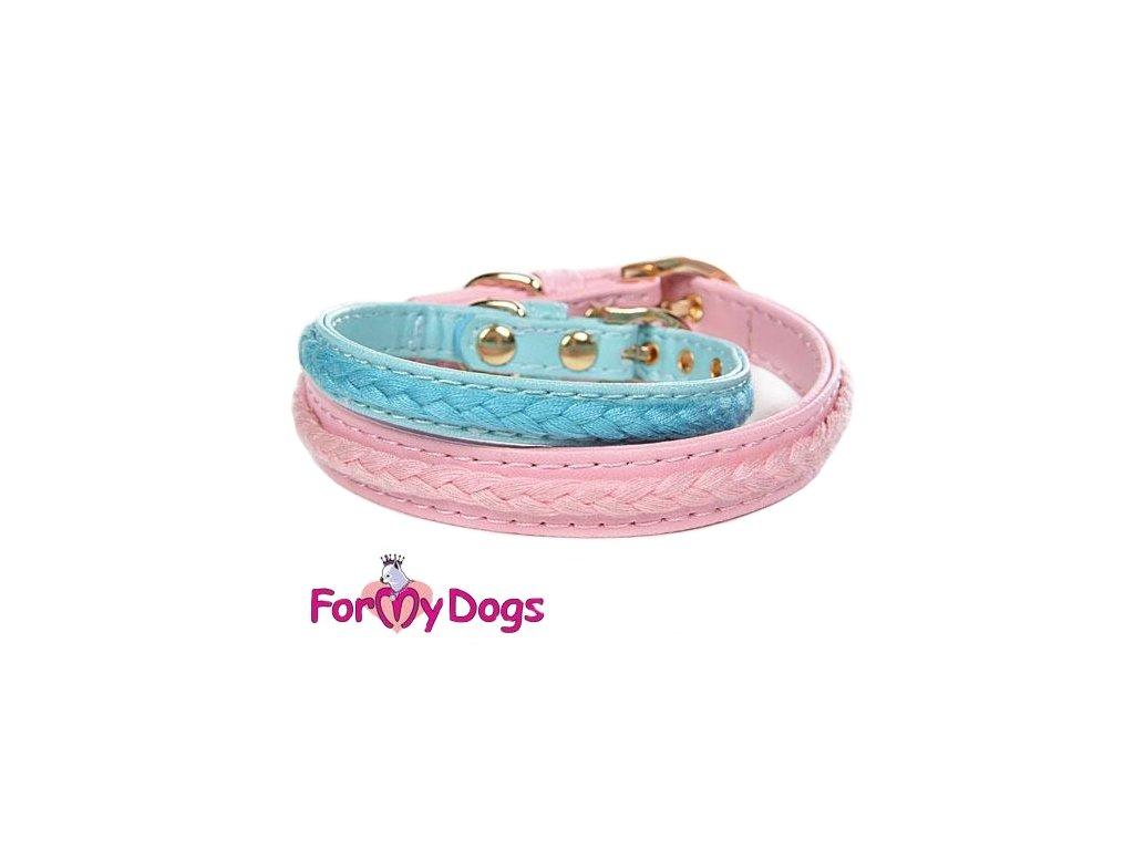 """Luxusní """"copánkový"""" obojek pro psy od For My Dogs"""