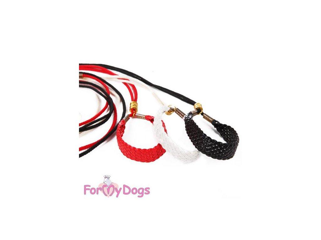 Výstavní vodítko pro psy ForMyDogs White