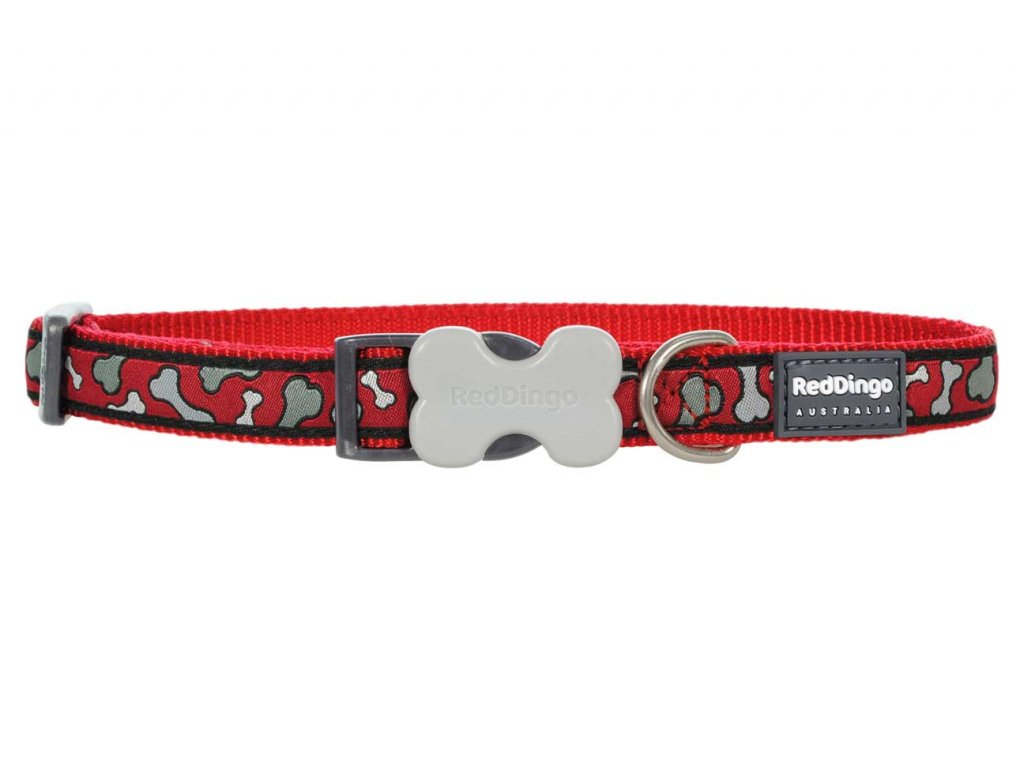 Obojek pro psa RED DINGO – Bonarama Red