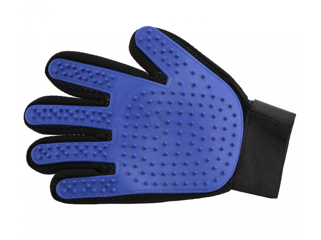 Vyčesávací rukavice na psí srst je jednoduchá a zároveň 100% fungující pomůcka, která spojuje příjemné s užitečným – psa hladíte, masírujete a zároveň odstraňujete uvolněnou srst.
