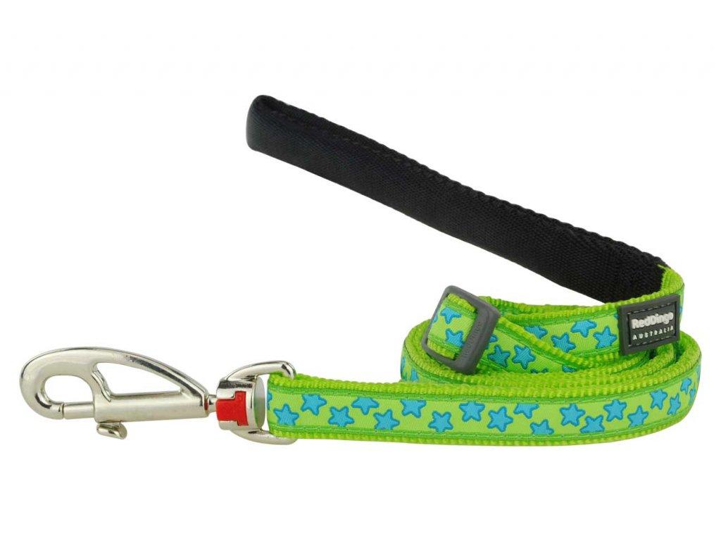 Vodítko pro psa, zelené