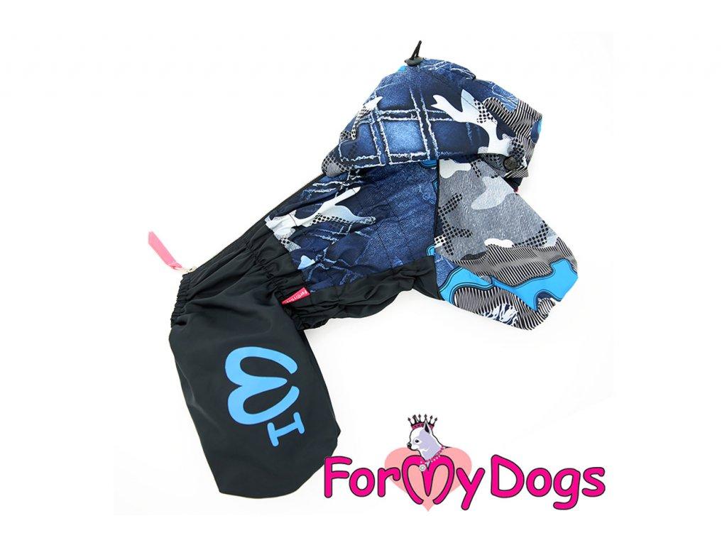 Obleček pro psy pláštěnka BLUE