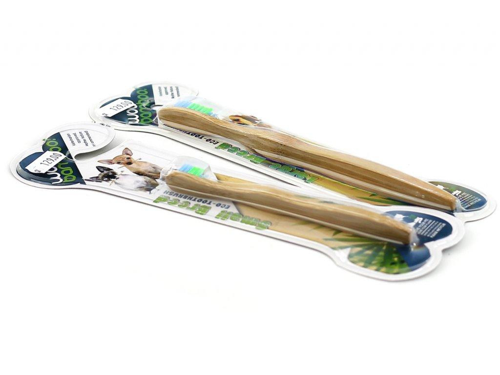 Bambusový kartáček pro psy CAMON