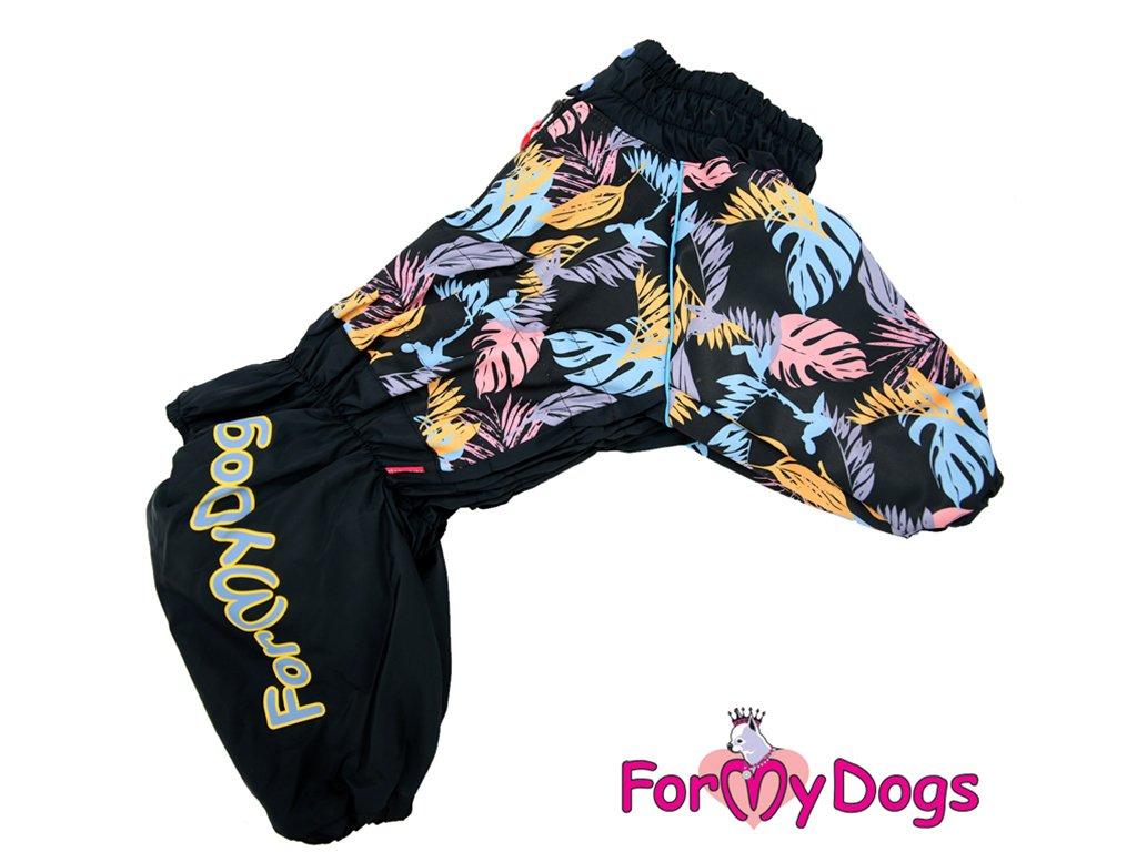Obleček pro větší psy zimní overal PALM LEAF