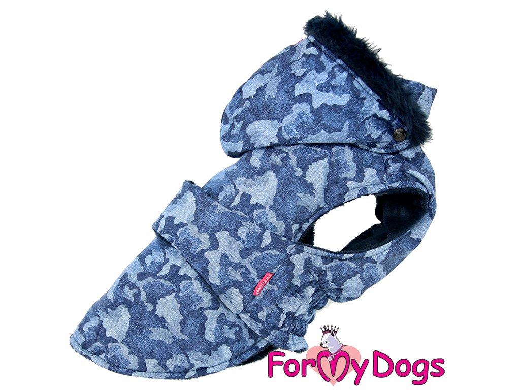 Obleček pro psy i fenky zimní bunda CAPARISON BLUE