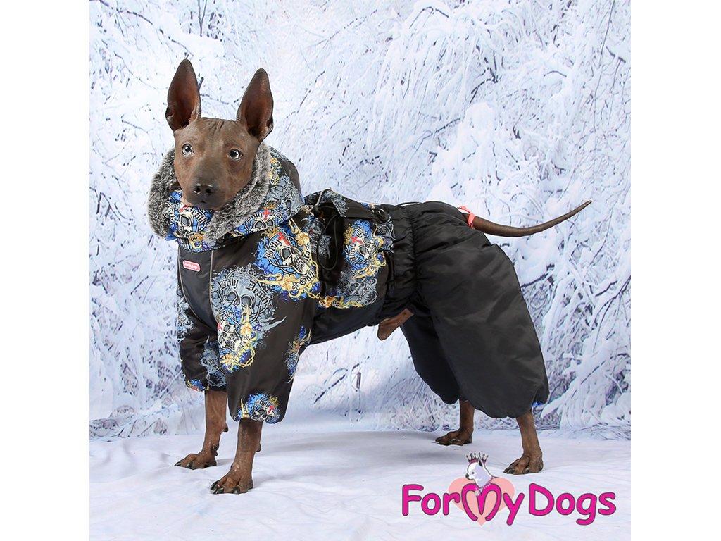 Obleček pro psy zimní overal FMD SKULL 7