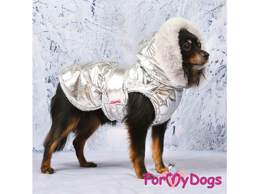 Obleček pro psy i fenky zimní bunda SILVER