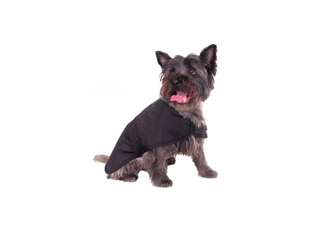 Obleček pro psy i fenky – nepromokavý kabát Black Water Resistant