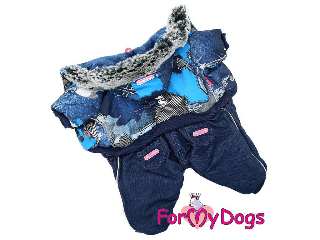 oblecek fmd blue camo pes