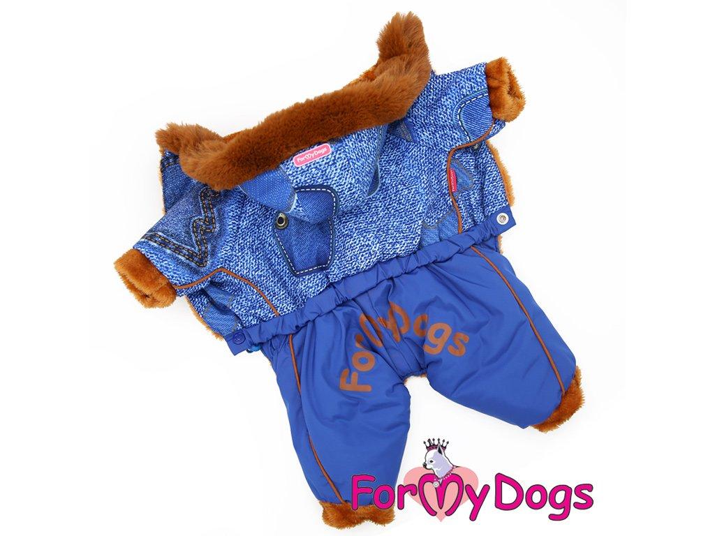 oblecek fmd blue denim fur pes