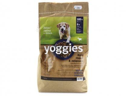 yoggies kozi maso zelenina 1 2kg