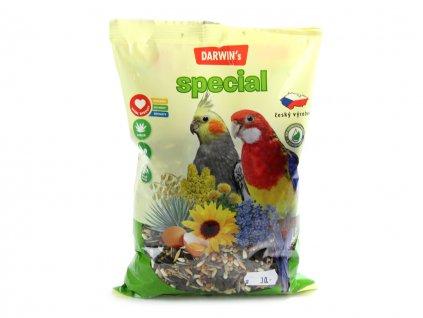 darwins special stredni papousek 500g