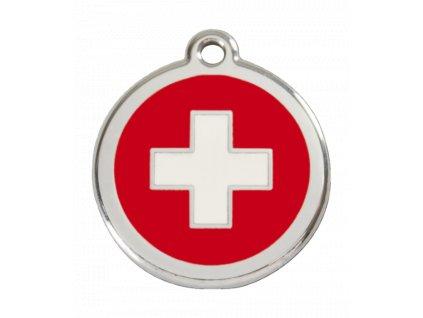 Malá známka pro psy, švýcarský kříž