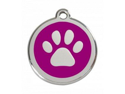Malá identifikační známka pro psy