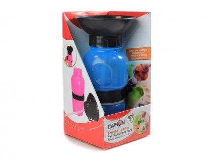 cestovni lahev na vodu camon modra