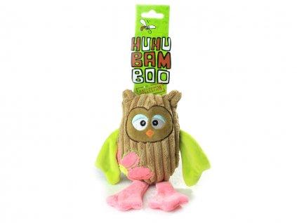 hracka pro psy sova huhubamboo