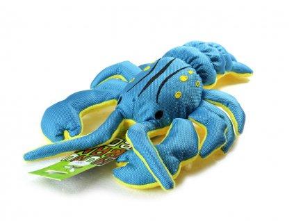 hracka pro psy rak huhubamboo modry
