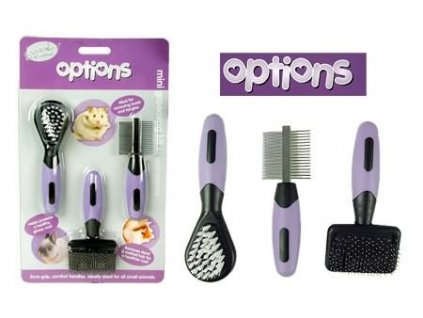 Sada na úpravu srsti hlodavců Options Grooming Set