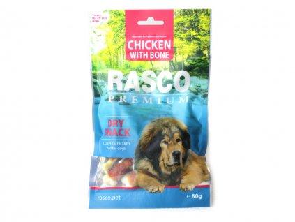pamlsky pro psy rasco chicken with bone