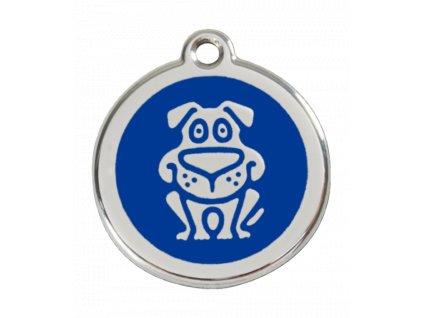 Kvalitní identifikační známka pro psy z nerezové oceli od RED DINGO