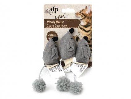 hracka pro kocky mysky afp wooly mouse