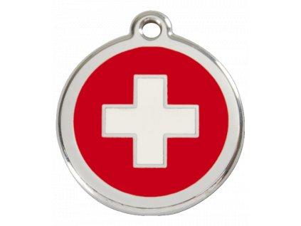Střední známka pro psy, švýcarský kříž
