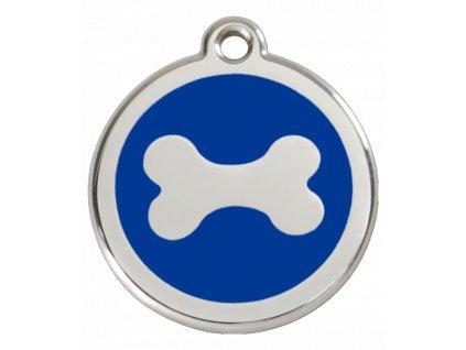 Střední ID známka pro psy včetně rytí