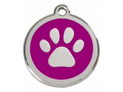 Střední ID známka pro psy včetně rytí od Red Dingo