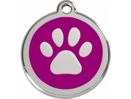 Velká ID známka pro psy včetně rytí